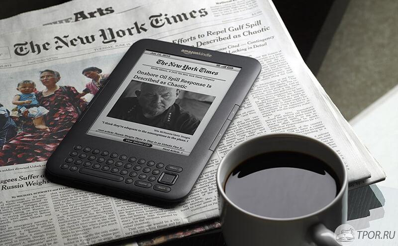 Бумажные книги или электронные устройства?